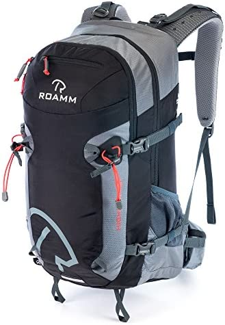 Roamm Highline 30 Backpack – 30L Liter Internal Frame Daypack – Best Bag for Camping, Hiking, Backpacking, and Travel – Men and Women