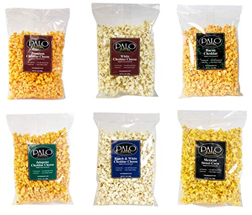 Palo Popcorn Variety Pack 7 oz. bags (Pack of 6)