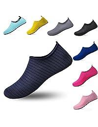 Wodun Unisex Water Shoes Barefoot Aqua Sock Shoes for Beach Pool Swim Surf Yoga Exercise Men Women