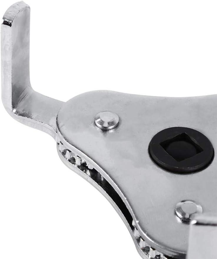 Fydun Chiave per filtro olio 3 ganasce a 2 vie 65-110MM Strumento di rimozione motore Rimozione doppio driver universale