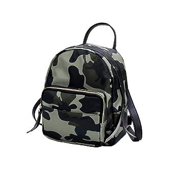 Xiuy Diario Pequeña Mochilas Nylon Waterproof Backpack Simple Mochilas Escolares Clasicas Salvaje Bolsas Resistente Mochilas Tipo Casual para Mujeres: ...