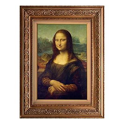 Creative 3D Visual Effect Wall Mural Mona Lisa...
