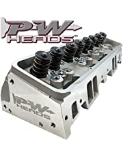 Performance World 70200A PWHeads 206cc Aluminum Cylinder Heads Pair (complete for hydraulic camshafts). Fits SB Chevrolet