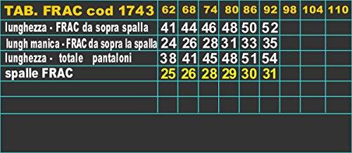 LULINA Frac Blu Scuro, Abito da Battesimo Coda di Rondine, Cerimonia cod 1743. 3