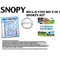 Snopy WII-LS-11000 WII Wii 5 in 1 Sports Kit Game Con [Windows 10 ]