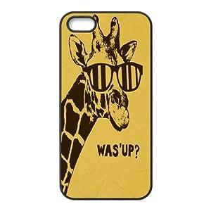 Giraffe Custom Cover Case for Iphone 5,5S,diy phone case ygtg560853