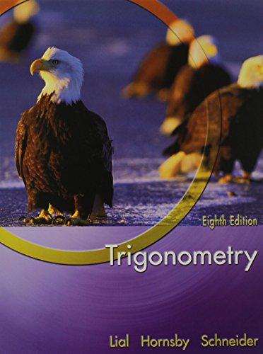 Trigonometry plus MyMathLab Student Starter Kit (8th Edition)