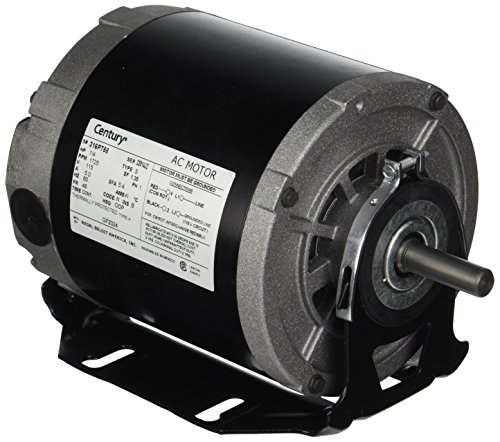 A.O. Smith GF2024 Century Resilient Base Split Phase Electric Motor, 115 Vac, 5.4 A, 1/4 Hp, 1725 ()