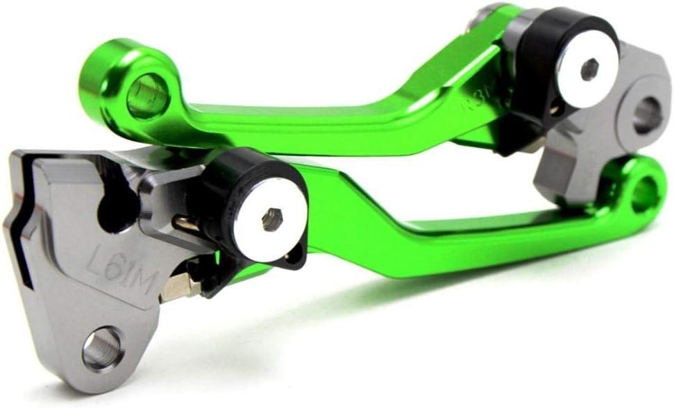 HANLING Pivot Faltbare Bremsen-Kupplungs-Hebel Handgriff for Kawasaki KX250F KX450F 2013-2018 Color : Brake