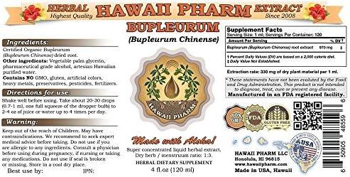 Bupleurum Liquid Extract, Organic Bupleurum Bupleurum Chinense Tincture 4×4 oz