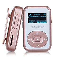 Pump Up your Workouts with this KingTop MP3 Music Players! This lightweight device features a clip-on design that keeps your hand free. It is ideal for any kind of sports or activity, including walking, running or jogging. With a 8GB internal...