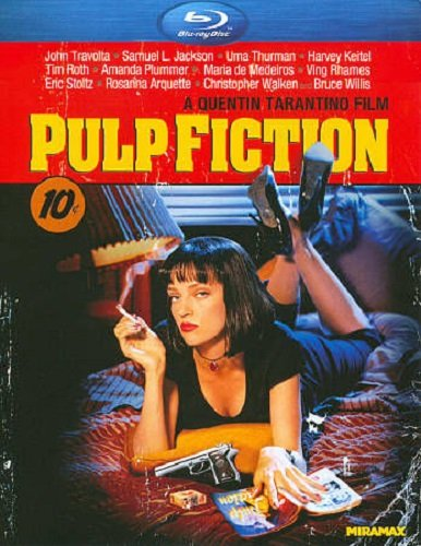 PULP FICTION Blu-ray Disc Movie (Quentin Taratino)