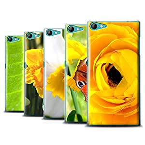 STUFF4 Phone Case / Cover for Wiko Highway Star 4G / Multipack / Floral Garden Flowers Collection