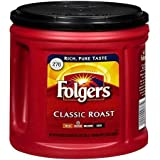 Folgers Coffee Ground Classic Roast Medium 33.9 OZ (Pack of 12)