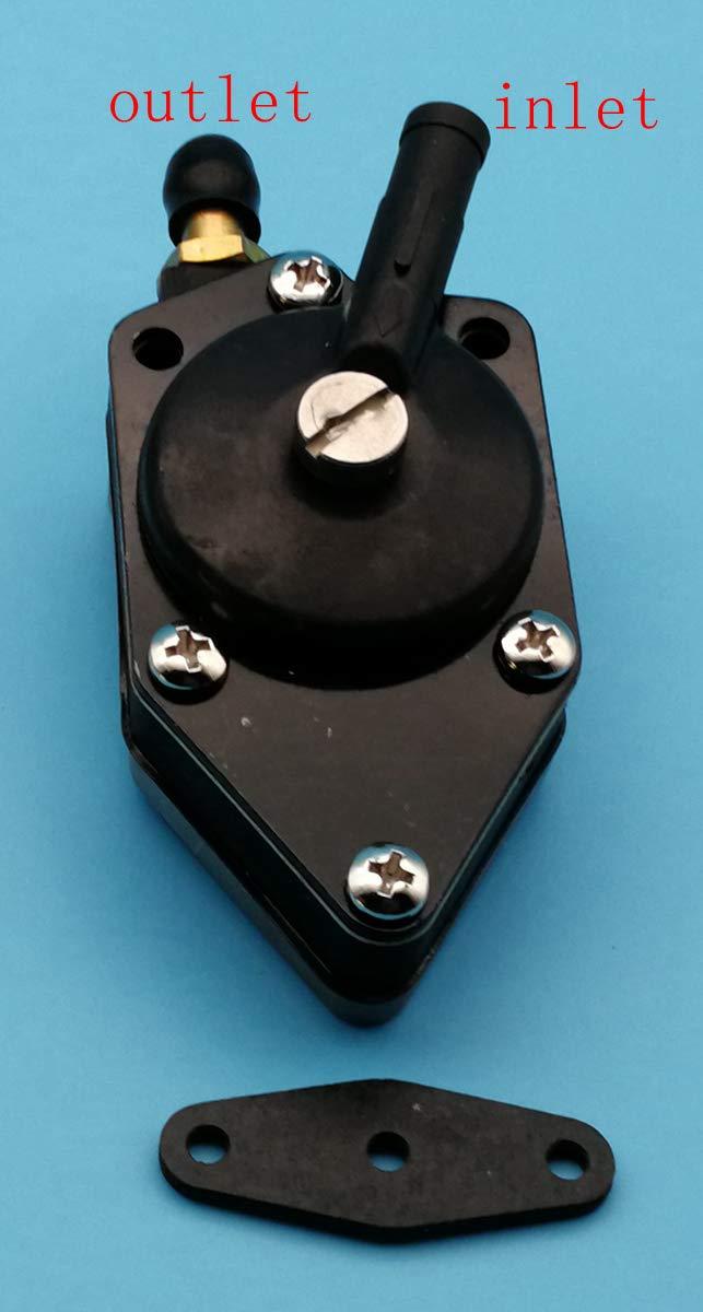Tuzliufi Fuel Pump Replace Johnson Evinrude 20hp 25hp 28hp 30hp 33hp 35hp 40hp 45hp 48hp 50hp 55hp 60hp 85hp 88hp 90hp 100hp 112hp 115hp 140hp Replace 438556 388268 388268 385781 New Z13