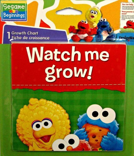 1st Birthday Chart Growth (Sesame Street 1st Birthday Growth Chart)