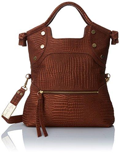 Foley + Corinna FC Lady Cross Body Bag, Cognac Crocodile, One Size (Crocodile Perfect Bag)