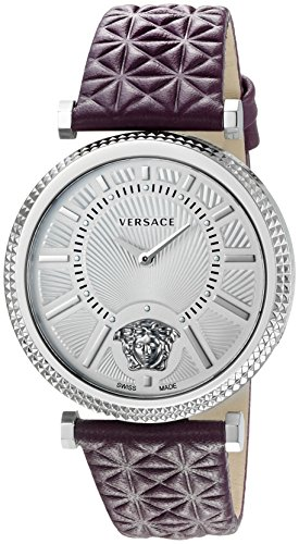 Versace-Womens-VQG010015-V-HELIX-Analog-Display-Swiss-Quartz-Purple-Watch