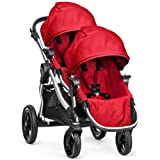 Baby Jogger City Select Stroller w 2nd Seat - Ruby