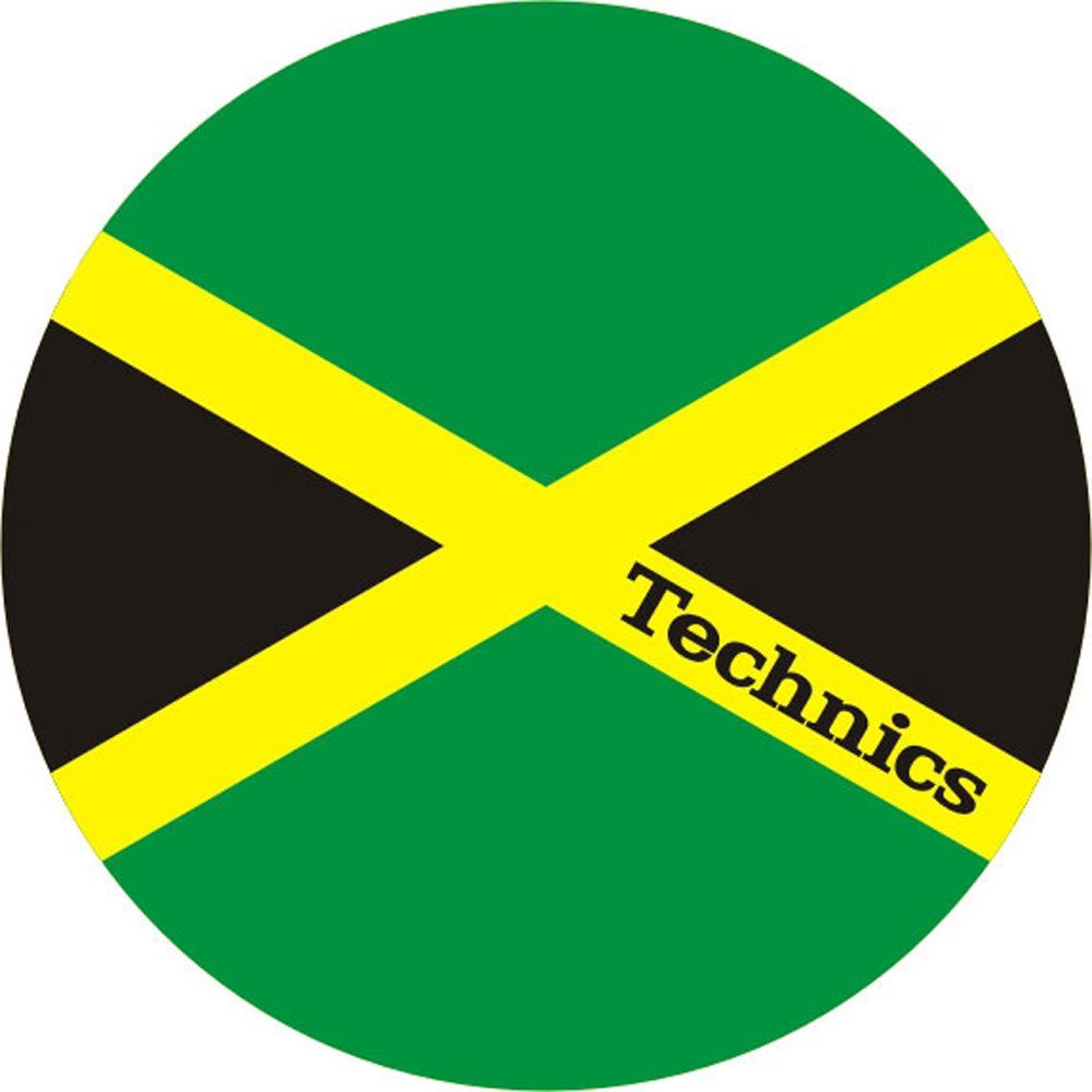 Magma Technics Jamaika Slipmats - Jamaican Flag 60646 61541