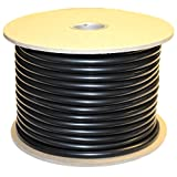 .118'' (3 mm) Viton (FKM) O-Ring Cord Stock, 75A Durometer, 100' Spool, Black