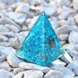 Orgone Pyramid with healing crystal and
