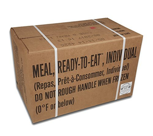 Western Frontier 2021 and up Inspection Date, 2018 Pack Date, Meals Ready-to-Eat Genuine US Military Surplus with Western Frontier's Inspection from Western Frontier