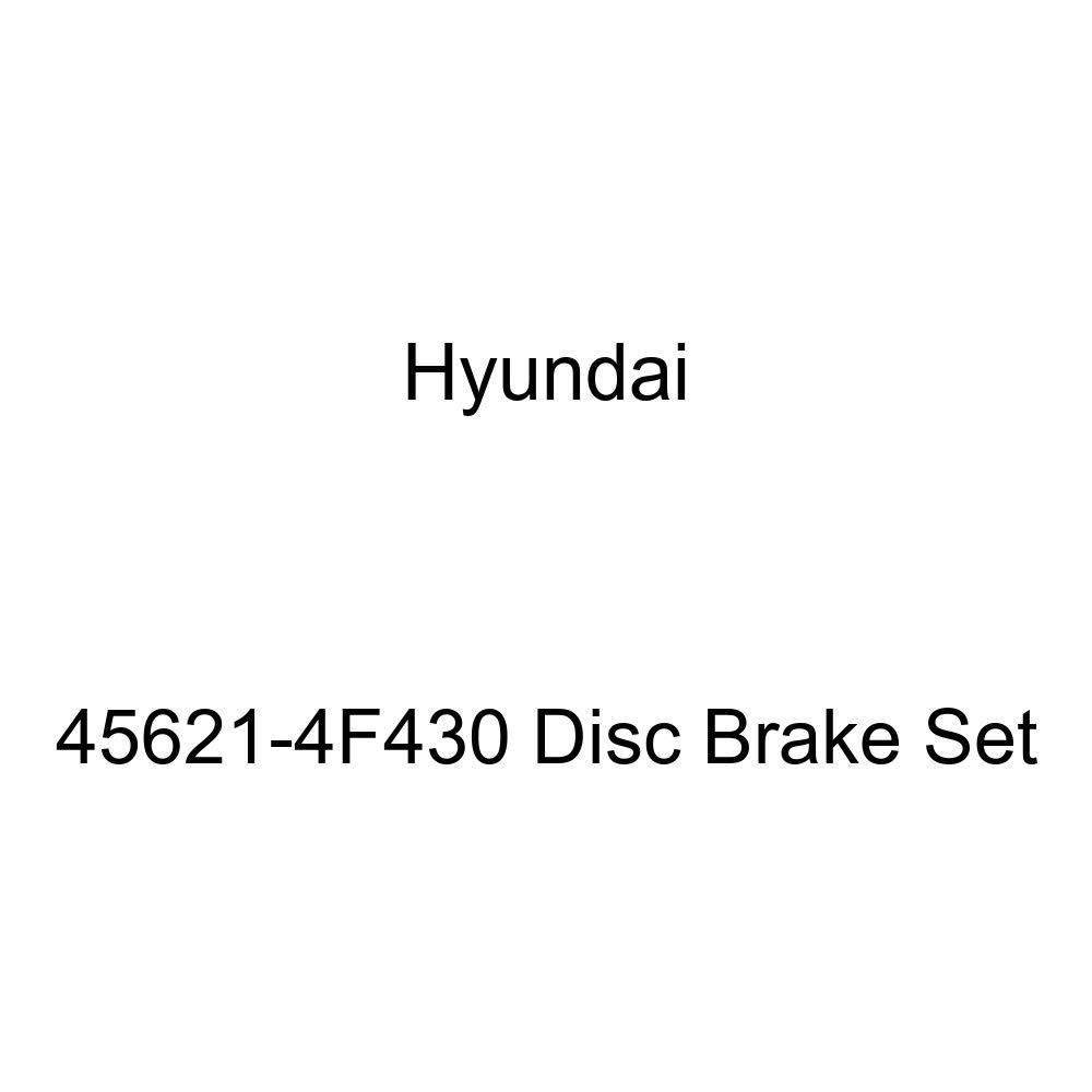 Genuine Hyundai 45621-4F430 Disc Brake Set