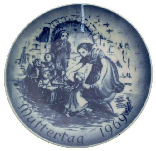 Bareuther Mothers Day plate 1969 CP2053 (Bareuther Mothers Day Plate)