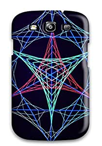 Nora K. Stoddard's Shop Lovers Gifts XW8616M24HMJKO8C Tpu Shockproof Scratcheproof String Art Hard Case Cover For Galaxy S3