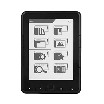 Etase Lector de Ebook de 6 Pulgadas ResolucióN de E-Ink 800X600 4 ...