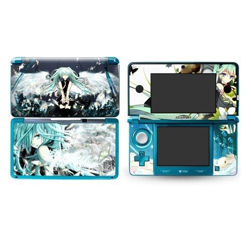 Puella Magi Madoka Magica Design Vinyl Skins for Nintendo 3ds Decorative Protector -
