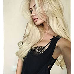 Eayon Hair 613 Blonde Lace Front Wigs Human Hair for Women Natural Straight Glueless Brazilian Virign Hair Wigs with Baby Hair 16 inches
