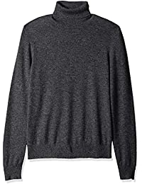 Men's 100% Premium Cashmere Turtleneck Sweater
