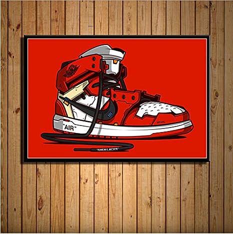 Aj Michael Sneaker Jordan Haoxinbaihuo Air Max Scarpe Storia Moda XiOPTukZ