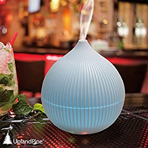 New Year Special!! UplandPine Aromatherapy Essential Oil Diffuser, Ultrasolic Cool Mist Whisper-Quiet Humidifier for Office Home Bedroom Living Room Study Room Yoga Spa