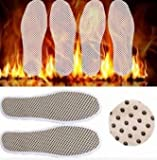 Tourmaline Self Heated Heating Magnetic Foot Massage Insole Far Infrared Warm Shoe Pad (Size37) by Lovestore2555