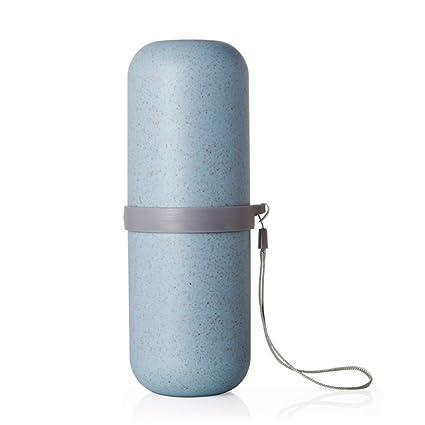 Amazon.com: Estuche de plástico cepillo para polvo de ...