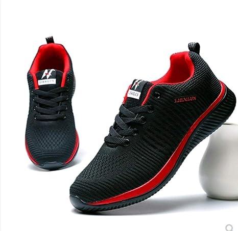 SHUAIGE Zapatos para Correr, Zapatos para Hombres, Zapatos