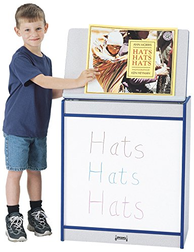 Rainbow Accents 0543JCWW003 Big Book Easel, Write-N-Wipe, Blue