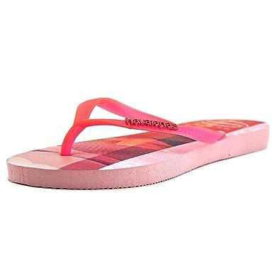 336d79bba88 Havaianas Women s Slim Paisage Flip Flops Crystal Rose Sandal
