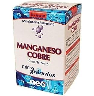 Manganeso-Cobre Microgranulos 50 cápsulas de Neo