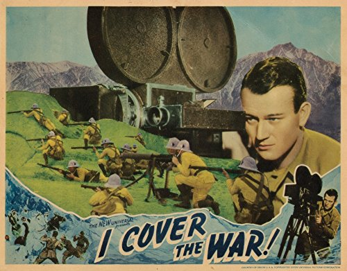 Used, Posterazzi I Cover The War Lobbycard John Wayne 1937 for sale  Delivered anywhere in USA