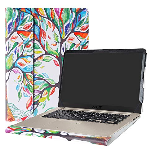 Alapmk Protective Case Cover for 15.6 ASUS VivoBook S15 S510 S510UA S510UQ S510UN F510UA X510UQ Series Laptop(Warning:Not fit Other Model),Love Tree