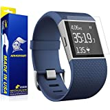 ArmorSuit MilitaryShield for Fitbit Surge Fitness Superwatch Anti-Glare Screen Protector [2 Pack] Anti-Bubble Shield w/ Lifetime Replacements - Matte