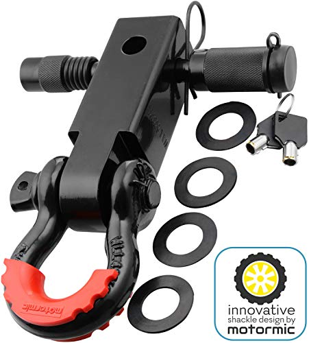 Motormic Shackle Hitch Receiver 2 + 5/8