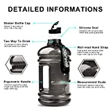PANKIO Water Jug 2.2L Big Water Bottle 73OZ Half