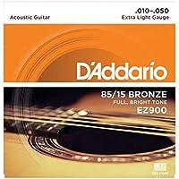 Daddario Ez900 Akustik Gitar Tel Seti, 85/15 Bronze, Extra Light