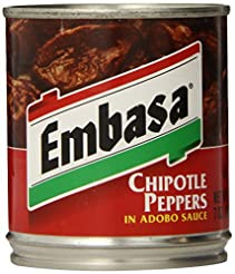 Embasa Chipotle Peppers in Adobo Sauce, ...