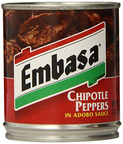 Embasa Chipotle Peppers in Adobo Sauce, 7-Ounce Cans (Pack of 12) ()